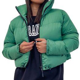 Bomber jacket κοντό (Πράσινο)