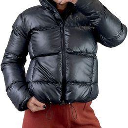 Bomber μπουφάν με τσέπες (Μαύρο)