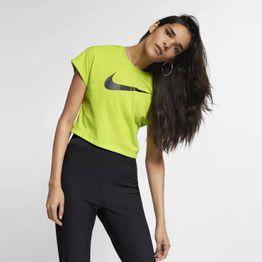 Nike Sportswear Swoosh Short-Sleeve Crop Top (9000025457_37500)