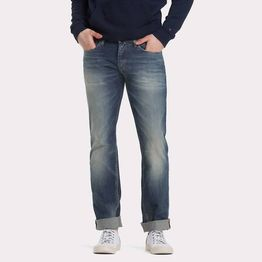 Tommy Jeans Straight Cut Distressed Jeans (9000019247_35886)