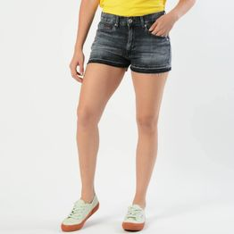 Hotpant Medium Rise Denim Shorts (9000004431_32368)