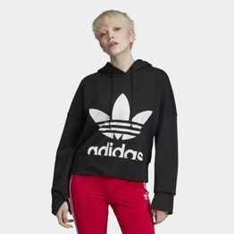 adidas Originals Cropped Women's Hoodie - Γυναικείο Φούτερ (9000033287_1469)