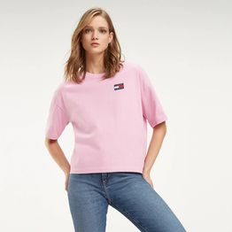 Tommy Jeans Recycled Boyfriend Fit T-Shirt - Γυναικεία Μπλούζα (9000036410_41070)