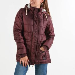 Body Action Hip-Length Quilted Jacket (9000016615_8526)