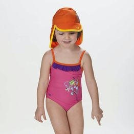 Arena Water Tribe Rouche Girl's One Piece (9000005972_32712)