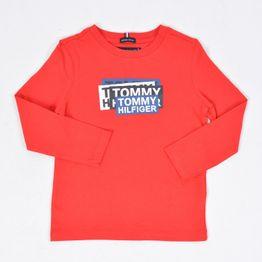 Tommy Jeans AJ STICKER PRINT TEE L/S (9000039819_6938)