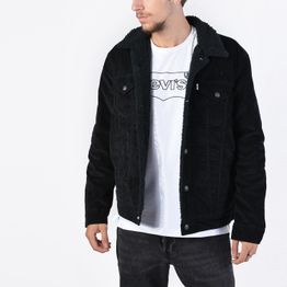 Levis TYPE 3 SHERPA TRUCKER BLACK CO (9000038231_26097)