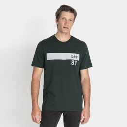 Lee TECH. TEE DK BOTTLE GREEN (9000037257_22809)