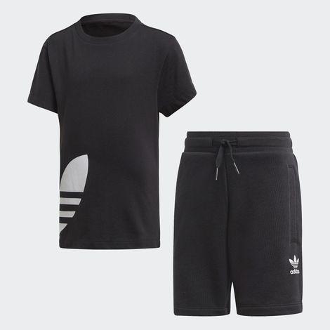 adidas Originals Big Trefoil Shorts Tee Set (9000045620_1480)
