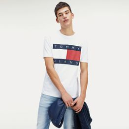 Tommy Jeans Men's Flag Tee (9000046801_16073)