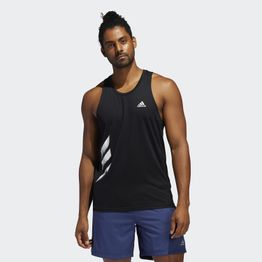 adidas Performance Own The Run 3-Stripes Men's Singlet (9000045782_1469)