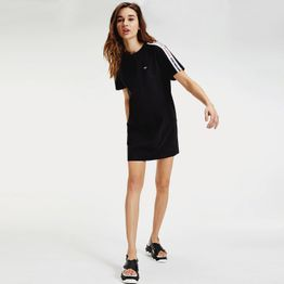 Tommy Jeans Tape Detail Shortslv Dress (9000051028_1469)