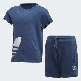 adidas Originals Big Trefoil Kids' Shorts Tee Set (9000045622_43548)