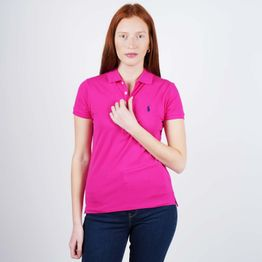 Polo Ralph Lauren Women's Slim Fit Polo Shirt (9000050492_44936)