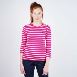 Polo Ralph Lauren Stripe 3/4 Sleeve Knitted Top (9000050501_44943)