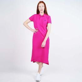 Polo Ralph Lauren Women's Short-Sleeve Polo Shirtdress (9000050503_44936)