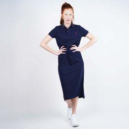 Polo Ralph Lauren Women's Short-Sleeve Polo Shirtdress (9000050504_42083)