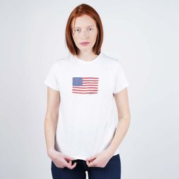 Polo Ralph Lauren Navy Flag Women's T-Shirt (9000050515_1539)