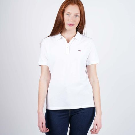 Tommy Jeans Women's Classics Polo Shirt (9000050973_1539)