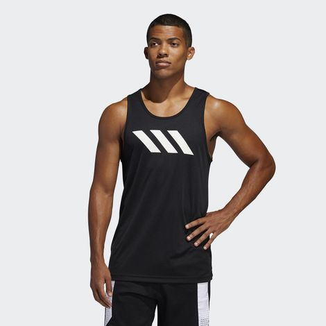 adidas Performance Sport 3-Stripes Men's Tank Top (9000044974_1469)