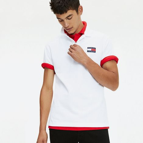 Tommy Jeans Badge Men's Polo Shirt (9000050920_16073)