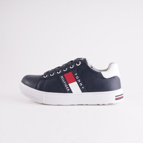 Tommy Jeans Low Cut Lace-Up Sneakers For Kids (9000051077_3450)
