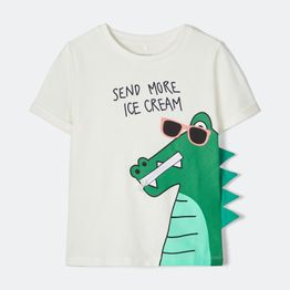 Name it Crocodile Print Kids' T-Shirt (9000048309_15458)