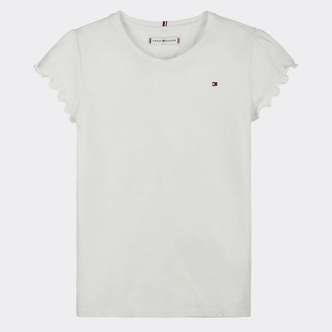 Tommy Jeans Essential Ruffle Cuff Kids' Tee (9000051289_1539)