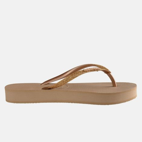 Havaianas Slim Flatform Glitter Flip Flops (9000053826_6842)