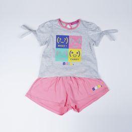 BODYTALK Kids' T-Shirt & Shorts (9000049178_9962)