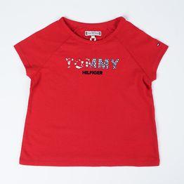 Tommy Jeans Floral Logo Infants' T-Shirt (9000051282_45072)