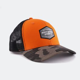 Body Action Unisex Camo Baseball Cap (9000050135_1902)