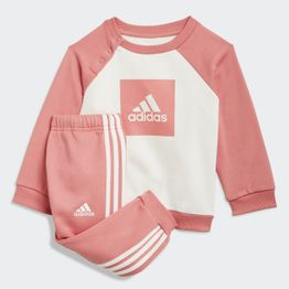 adidas 3-Stripes Fleece Jogger Βρεφικό Σετ (9000068522_50062)