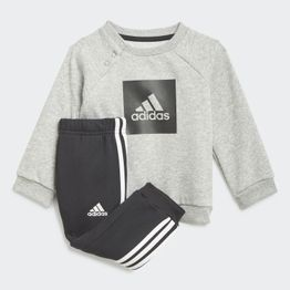 adidas 3-Stripes Fleece Jogger Βρεφικό Σετ (9000068523_7747)