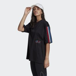 adidas Originals Adicolor Tricolor Oversized Γυναικείο T-Shirt (9000068583_1469)