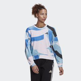 adidas Performance Nini Sum Γυναικεία Graphic Μπλούζα (9000074175_5775)