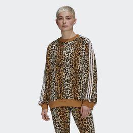 adidas Originals Crew Animal Print Γυναικείο Φούτερ (9000074420_51733)