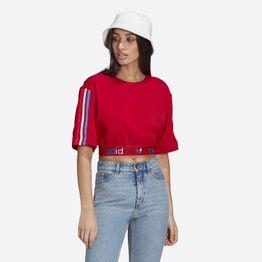 adidas Originals Adicolor Primeblue Tricolor Cropped Γυναικείο T-shirt (9000068629_10260)
