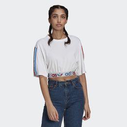 adidas Originals Adicolor Primeblue Tricolor Cropped Γυναικείο T-shirt (9000068867_1539)