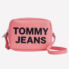 Tommy Jeans Essential Pu Camera Γυναικεία Χιαστή Τσάντα (9000088476_55437)
