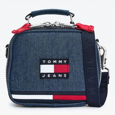 Tommy Jeans Heritage Denim Crossover Γυναικεία Χιαστί Τσάντα Ώμου (9000088484_1938)