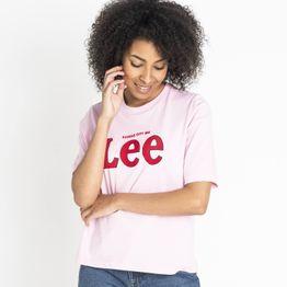 Lee LEE TEE FROST PINK (9000037164_41276)