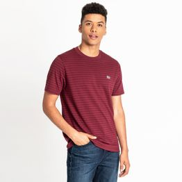 Lee STRIPE T BURGUNDY (9000037198_3359)