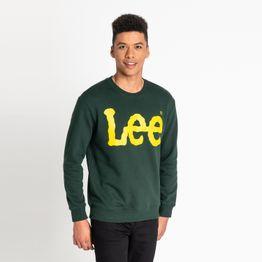 Lee LEE CREWNECK SWS DK BOTTLE GREEN (9000037217_22809)
