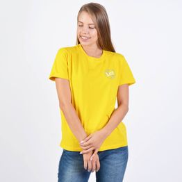 Lee SS GLOBAL TEE LEMON ZEST (9000037181_32501)