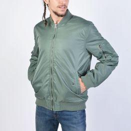 Body Action Men Vintage Bomber Jacket (9000041224_12899)