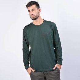 Lee Globe Patch - Ανδρική Μπλούζα (9000037242_22809)