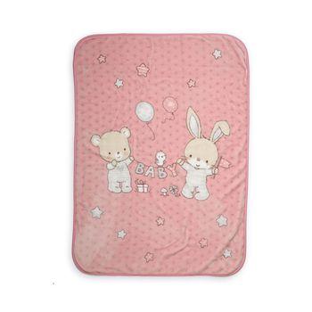 Κουβέρτα κούνιας 100×140 Play in my room Baby Collection – Nef-Nef
