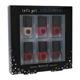 2K Let'S Get Colourful! Classics Nail Polish 6 X 5ml