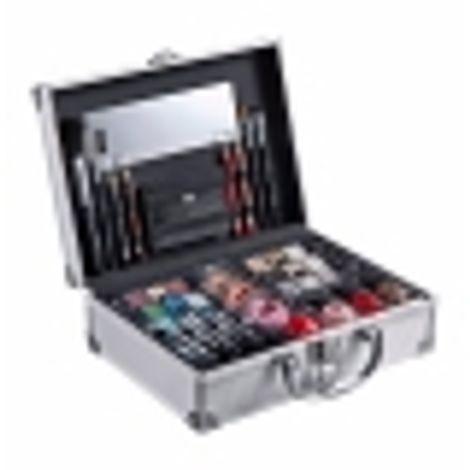 2k All About Beauty Train Case Makeup Palette 60,2gr Combo: Complete Makeup Palette